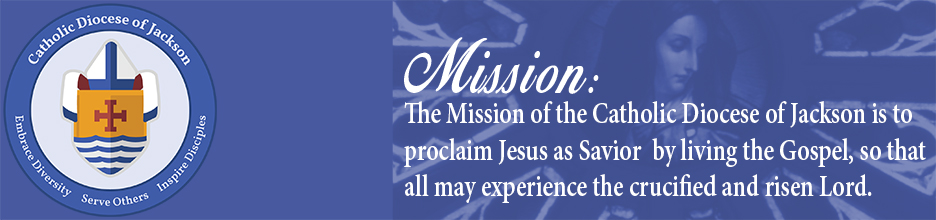 Diocese of Jackson Statement of Vision